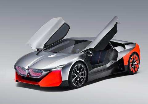 بي إم دبليو تكشف النقاب عن سيارة المستقبل بتصميم خيالي